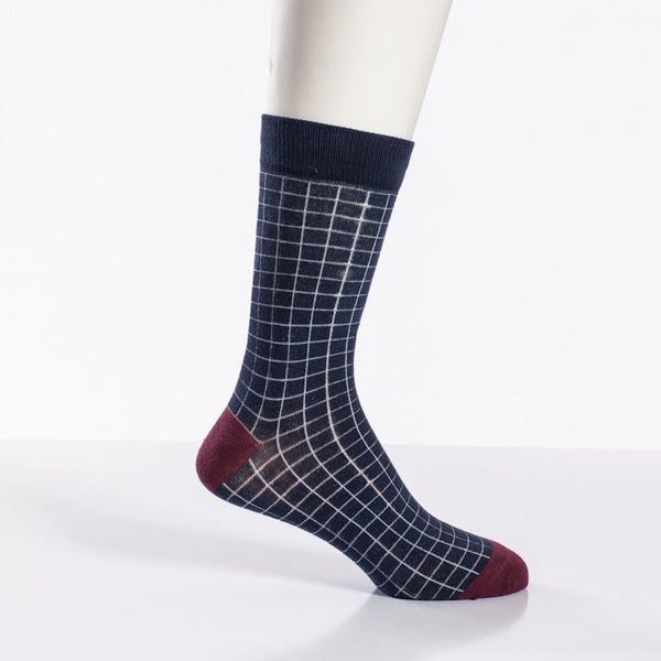 Jack & Jones Mix Color Burgundy Sock