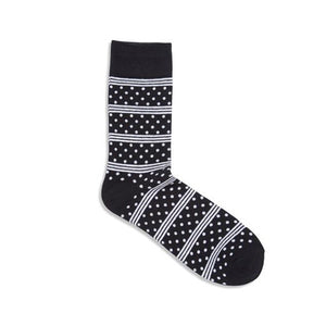 Jack & Jones Dots Black Socks