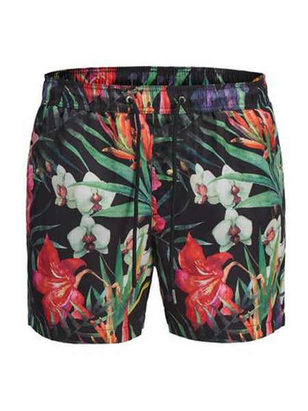 Jack & Jones maillot de bain à imprimé tropical