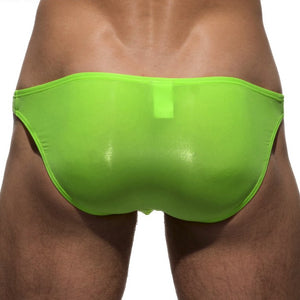 Private Structure Low Rise Bikini green flash