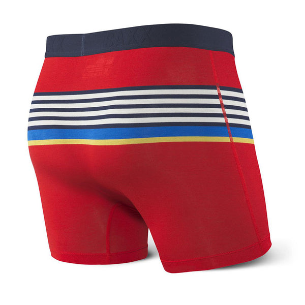 Saxx Ultra boxer Red Regatta Stripe