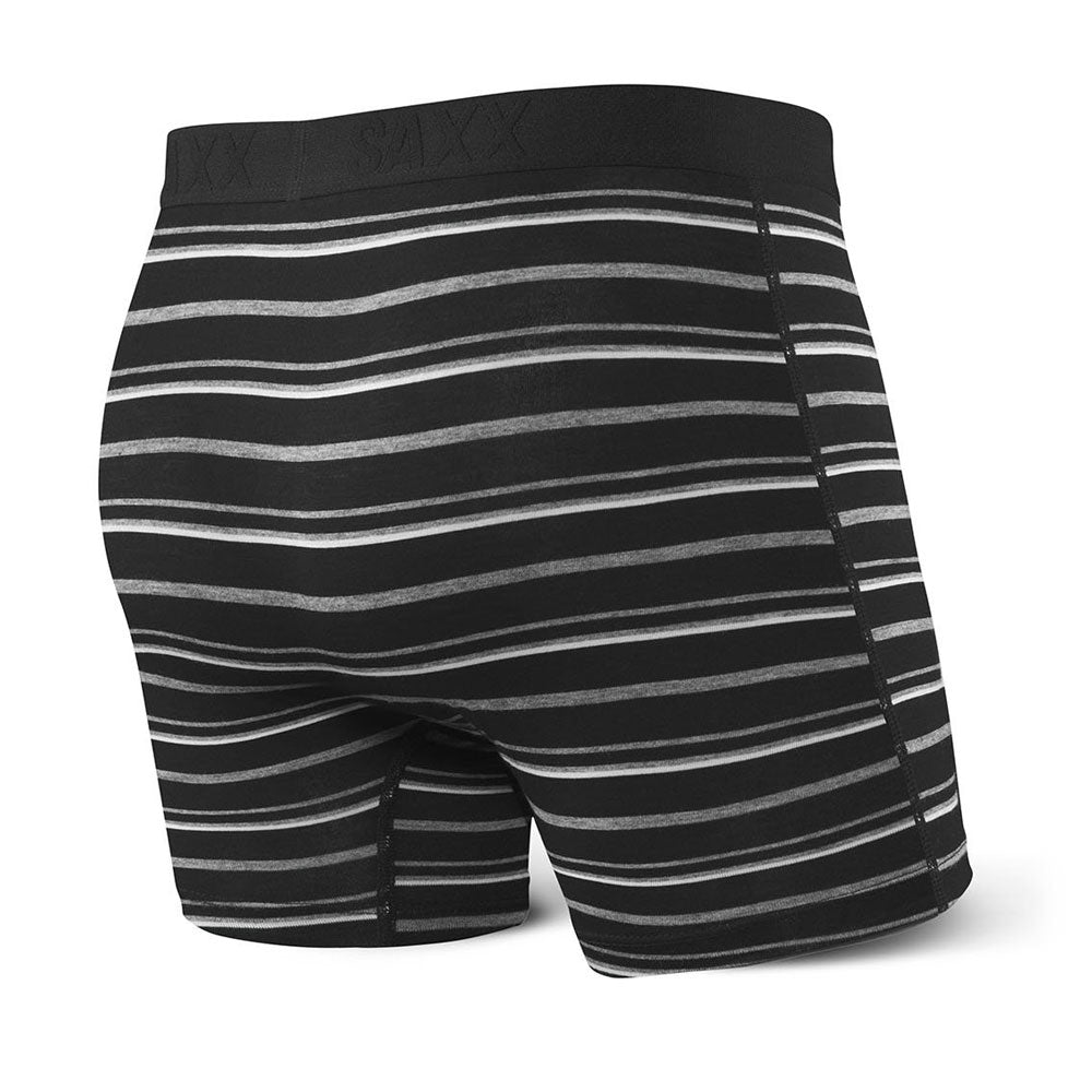 Boxer long Vibe Black Coast Stripe