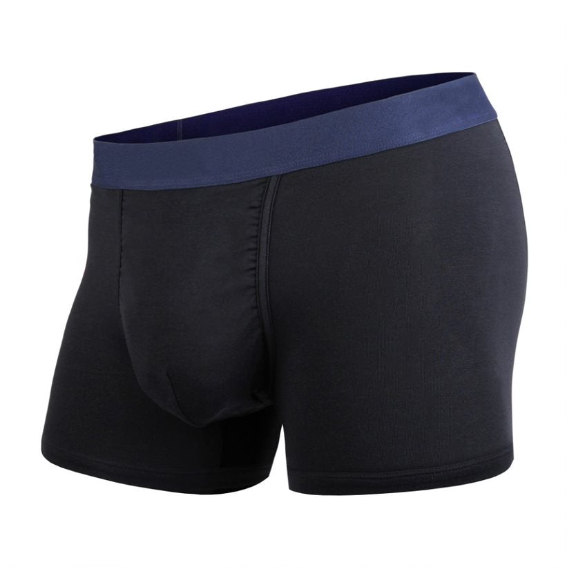 Boxer court Bn3th solid black navy