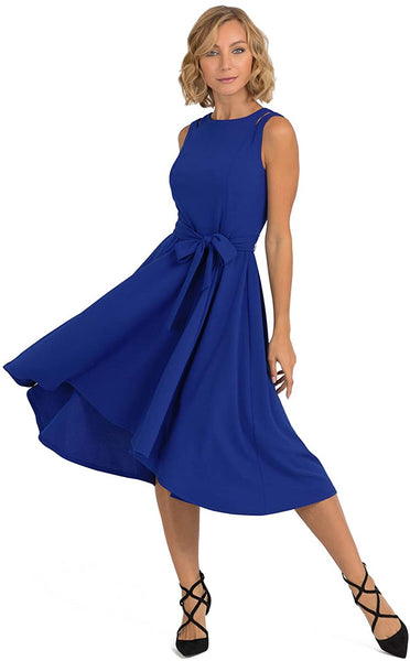 193490 Joseph Ribkoff Fit & Flare Dress