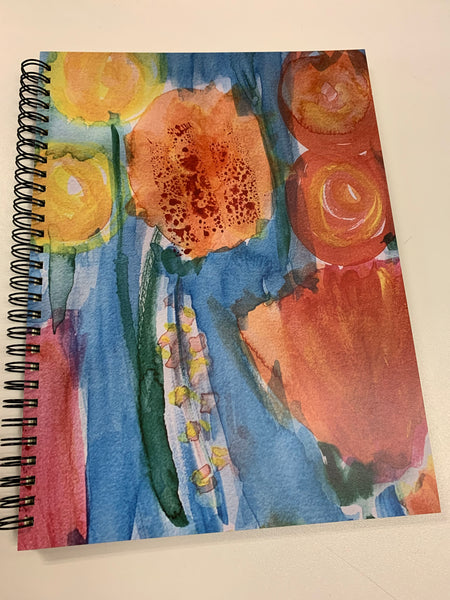 Bodacious Art Spiral Notebook