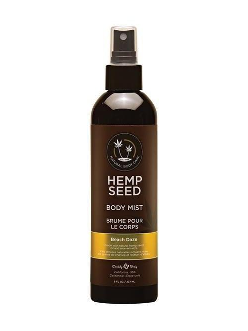 Earthly Body Hemp Seed Moisturizing Body Mist - 8 oz Beach Daze-Hemp Seed Moisturizing Body Mist - 8 oz Beach Daze-Eldorado-SatinBoutique