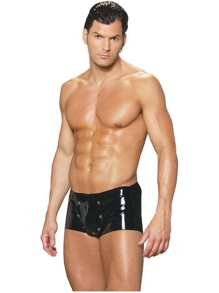 Elegant Moments EM-V9209 Vinylshorts med break-away front Elegante øjeblikke
