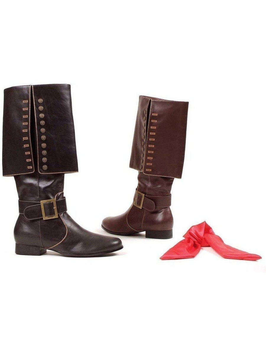 Ellie Shoes E-121-Captain Men 1 Heel Knee High Boots 엘리 신발
