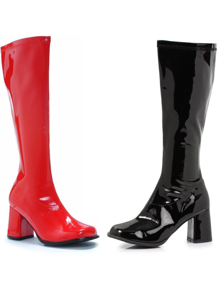 """Ellie Shoes E-300-HARLEY 3 """"Knee High Boot (Blk-Left Red-Right Ellie Shoes"""