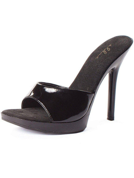 Ellie Shoes E-502-Vanity 5 Heel Mule Ellie Shoes