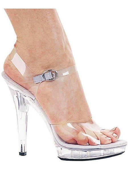 "Ellie Shoes EM-Brook 5 ""Heel Clear Sandal Ellie Shoes"