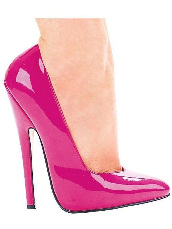 "Ellie Shoes IS-E-8260 6 ""Heel Fetish Pump, Fuchsia Sz 6 Ellie Shoes"