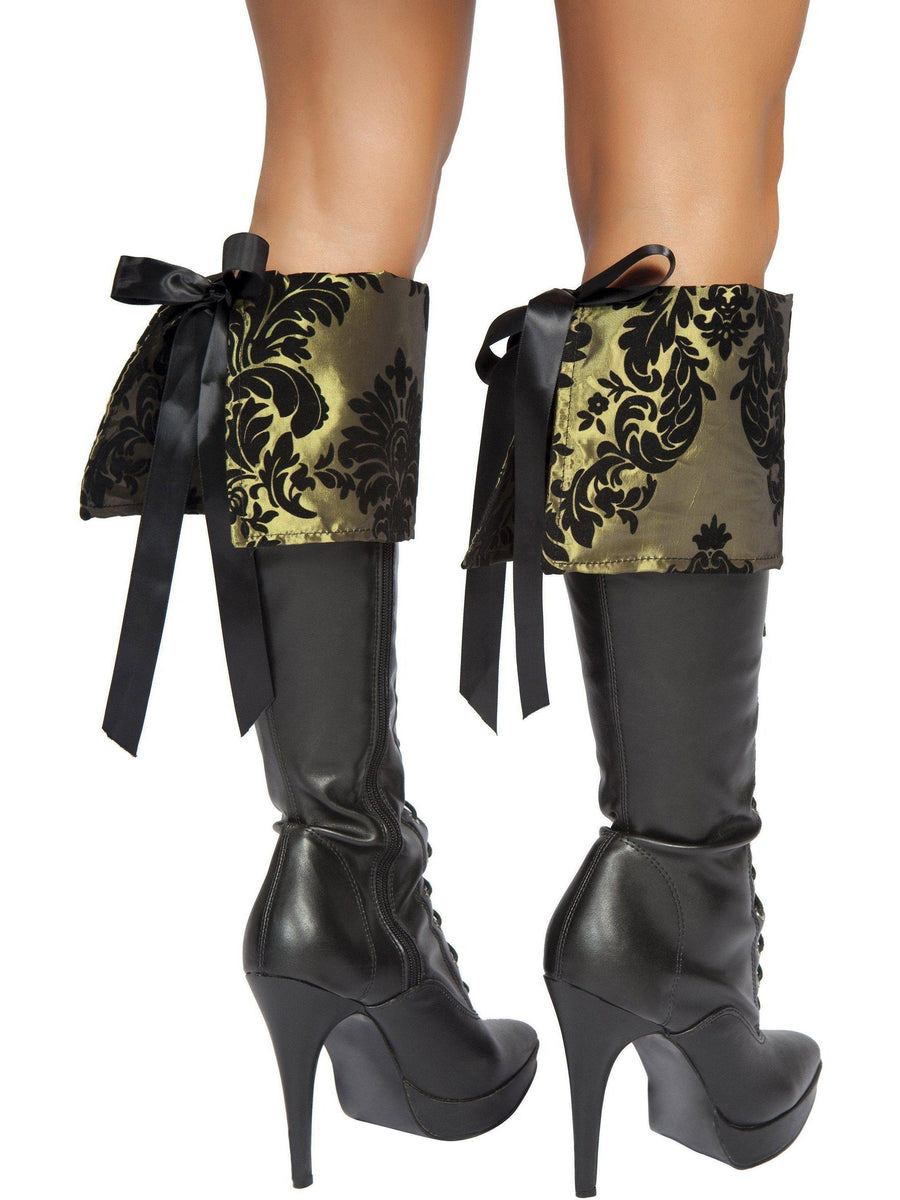 Roma RM-4154B Women's Tea Party Tease Boot Covers Roma Costume