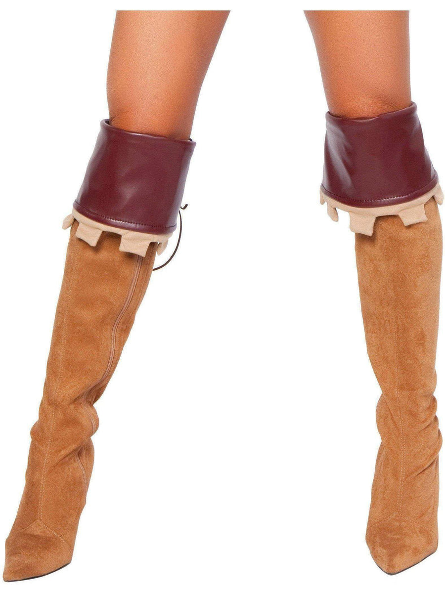 Roma RM-4265B Women's Sherwood Robyn Boot Cover, Brown Roma Costume