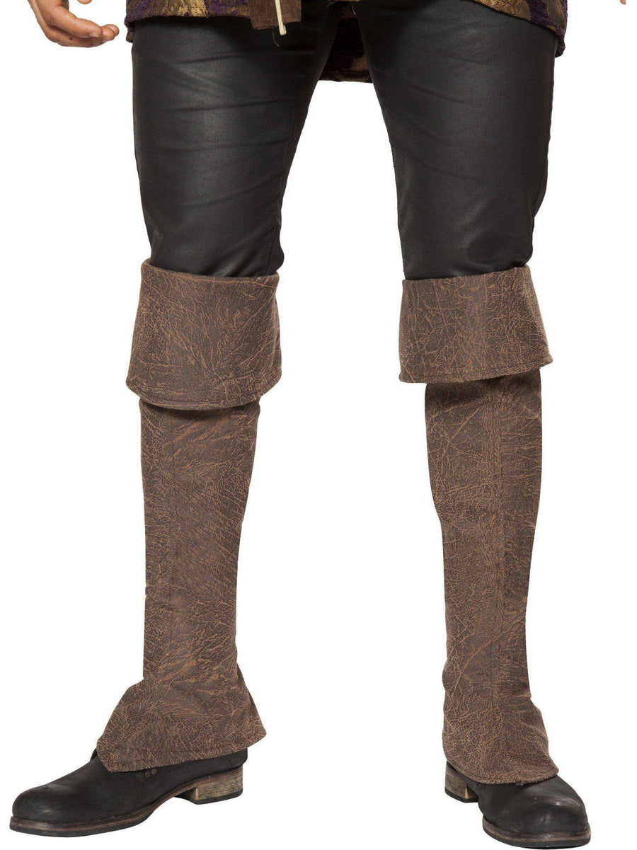 Roma RM-4650B Pirate Boot Covers with Zipper Detail Roma Costume