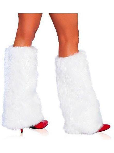 Roma RM-C121 Women's Fur Boot Covers Roma Costume