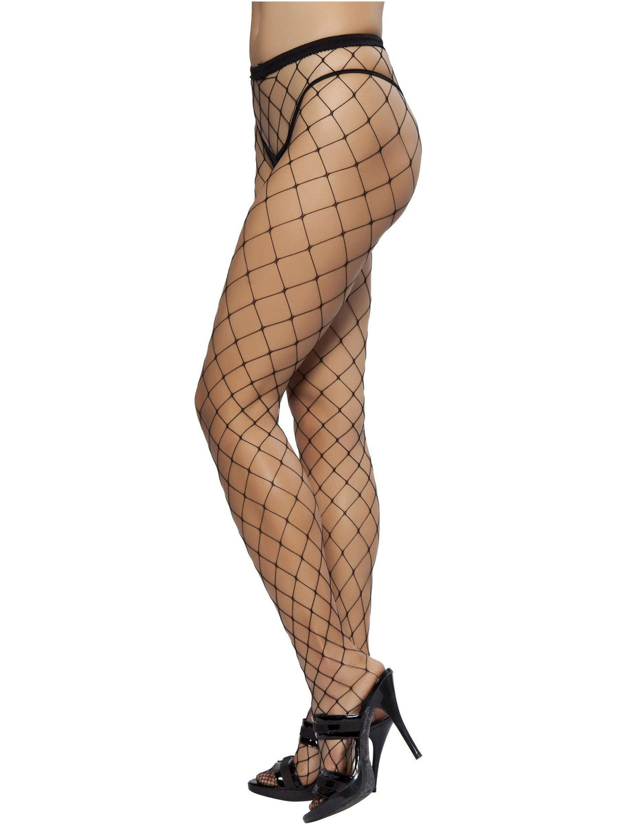 Roma RM-PH101 Open Fishnet Pantyhose Roma Costume