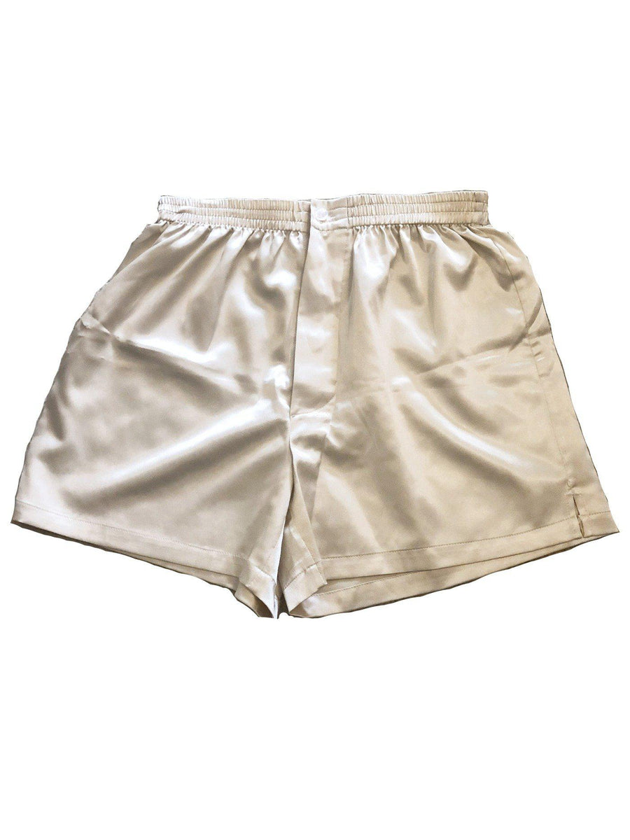 Satin Boutique Unisex Herren Stil IS-Boxershorts aus Dessous Satin, viele Farben Satin Boutique
