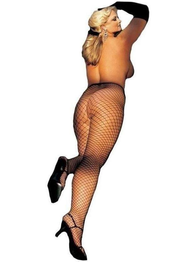 Shirley of Hollywood IS-IS-X96627 Big Hole Fishnet Pantyhose IS-Shirley of Hollywood