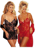 Shirley von Hollywood IS-SOH-1032 Sheer Chiffon ROBE mit Vorhang-Revers IS-Shirley von Hollywood