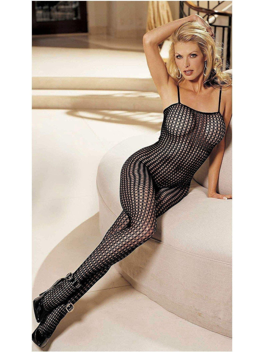 Shirley of Hollywood IS-SOH-91000 Honeycomb Lace Body Stocking IS-Shirley of Hollywood