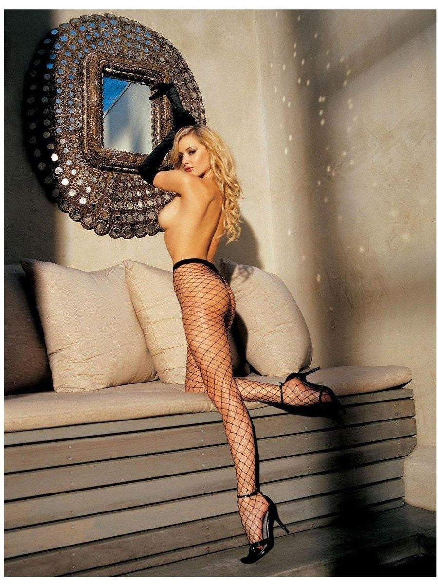 Shirley of Hollywood IS-SOH-96627 Big Hole Fishnet Pantyhose IS-Shirley of Hollywood