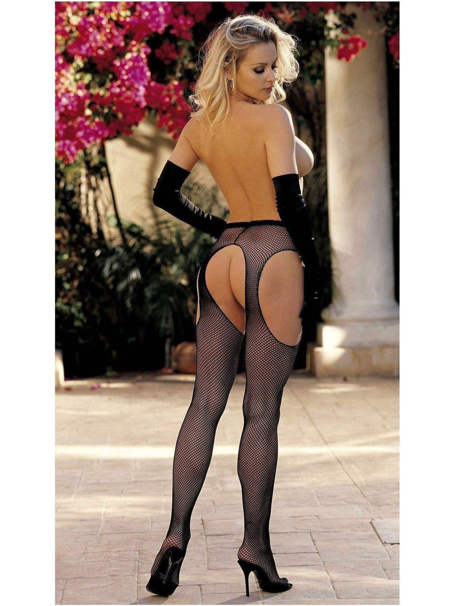 Shirley of hollywood IS-SOH-90044 Fishnet suspender pantyhose IS-Shirley of Hollywood