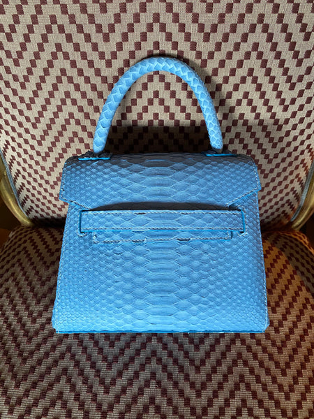 Powder Blue Python Mini