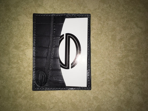Matte Dark Grey Card and Cash Case