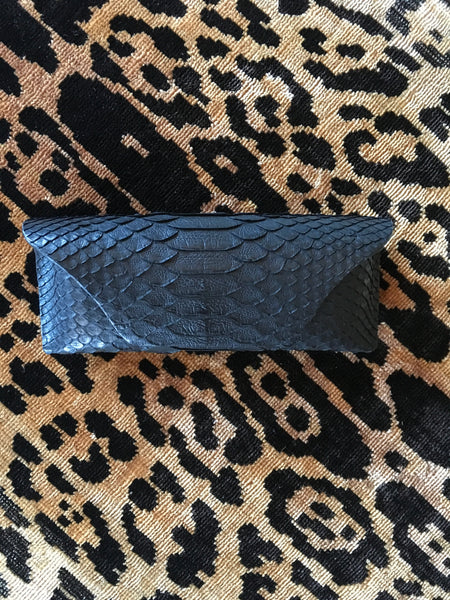 Black Python Glasses Case