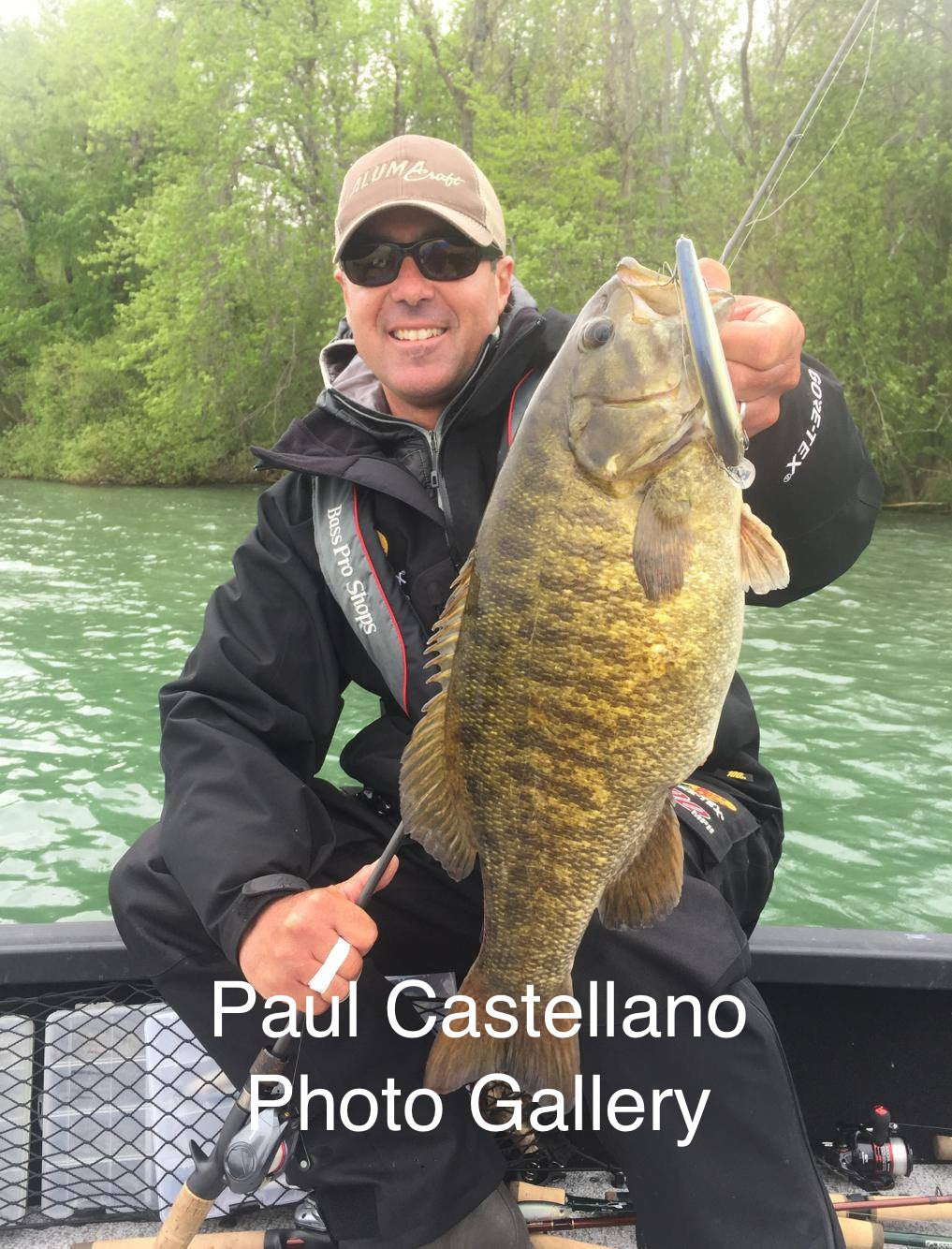 paul castellano with nishine lure works