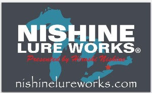 NISHINE Original Sticker - Great Lakes logo