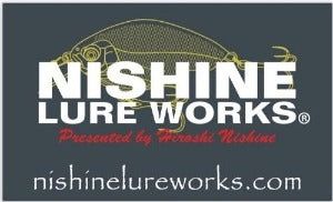 NISHINE Original Sticker - Lure logo