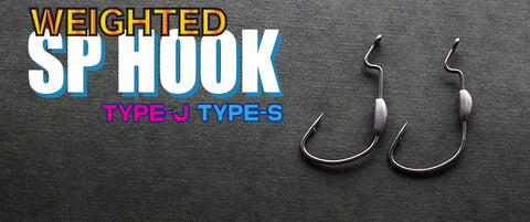 Ichikawa Fishing HOOK - WEIGHTED SP HOOK_Type J