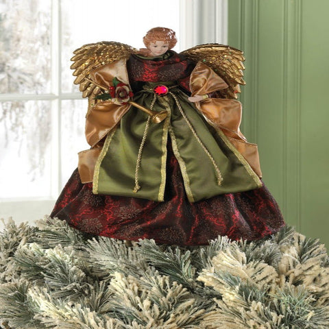 Christmas Angel Doll & Tree Topper
