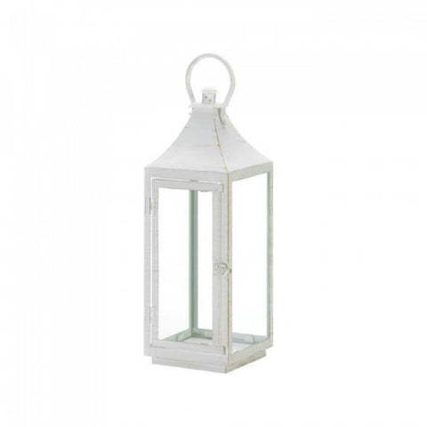 Large Traditional White Lantern