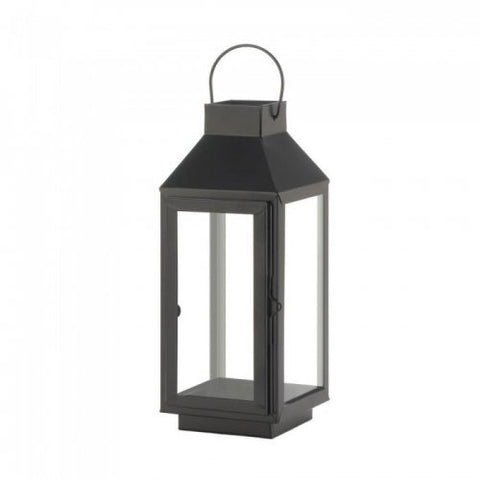 Medium Square Top Black Lantern