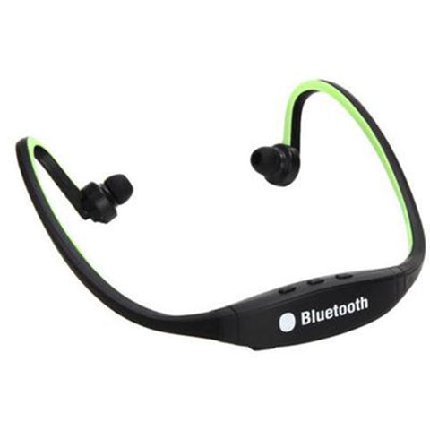 Wireless Headset for iPhone Samsung (Green)