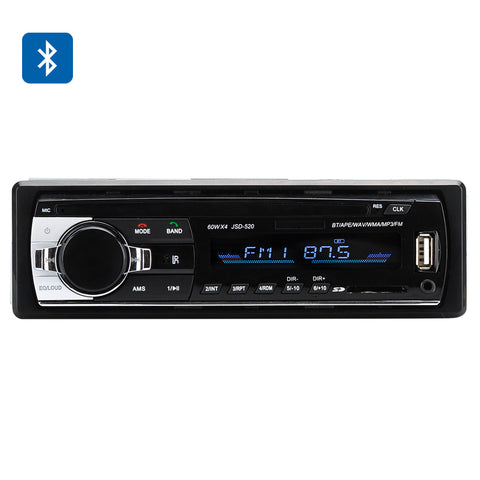 One DIN Bluetooth Car Stereo