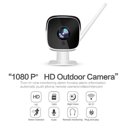 Wifi IP Camera 1080P  Indoor Outdoor US Plug
