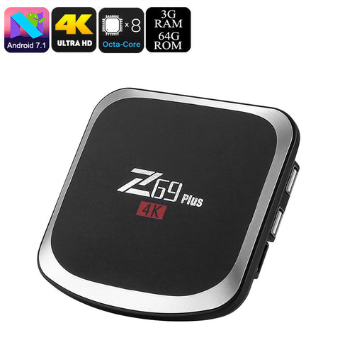 Z69 Plus Android TV Box (64GB)