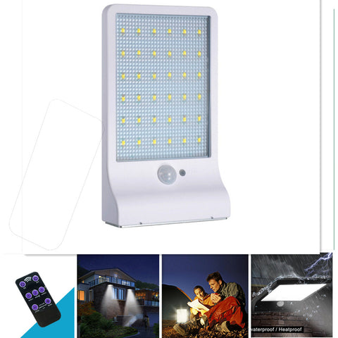 LED Street Lamp Light Sensor & Human Body Ind