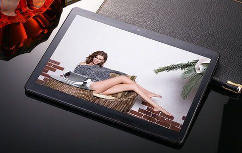 10.1'' IPS Tablet PC-Black EU Plug