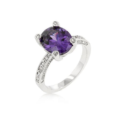 Purple Anniversary Ring (size: 07)