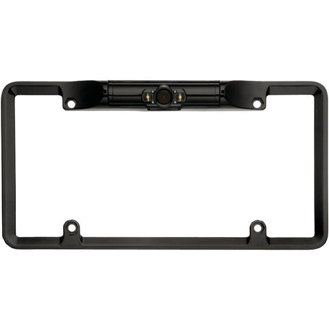 Boyo License Plate Camera With Leds (black)