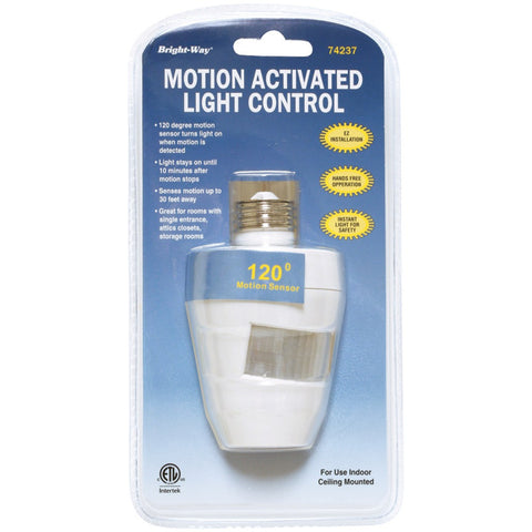 Bright-way Motion Activated 120¡ Indoor Light