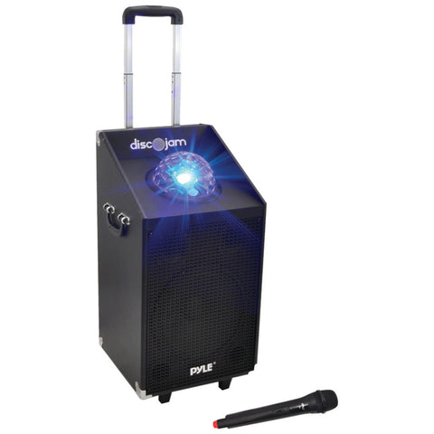 Pyle Pro 600-watt Bluetooth Battery-powered Portable Pa Speaker System