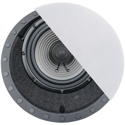 "Architech 6.5"" Premium Series 15deg -angled Frameless Ceiling Speaker"