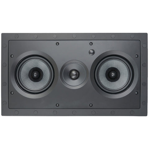 "Architech 5.25"" Kevlar Series 2-way Frameless Lcr In-wall Speaker"