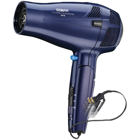 Conair 1875-watt Cord-keeper Folding Dryer